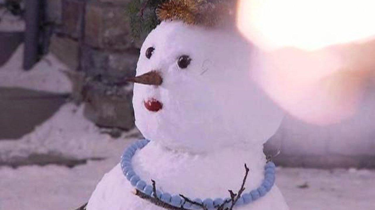 Колье для снежной бабы