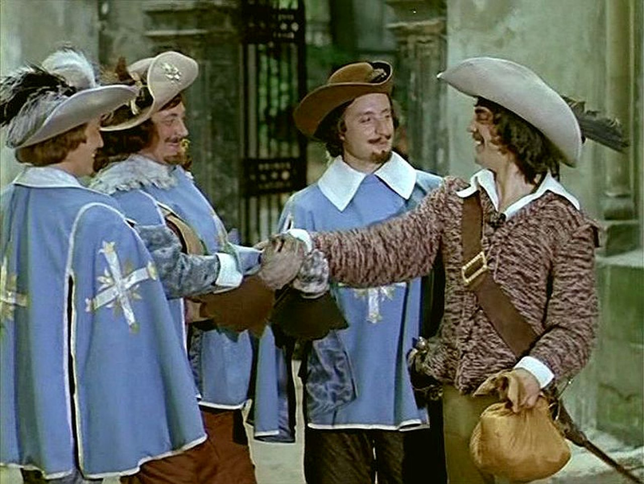 'Артаньян и три мушкетера