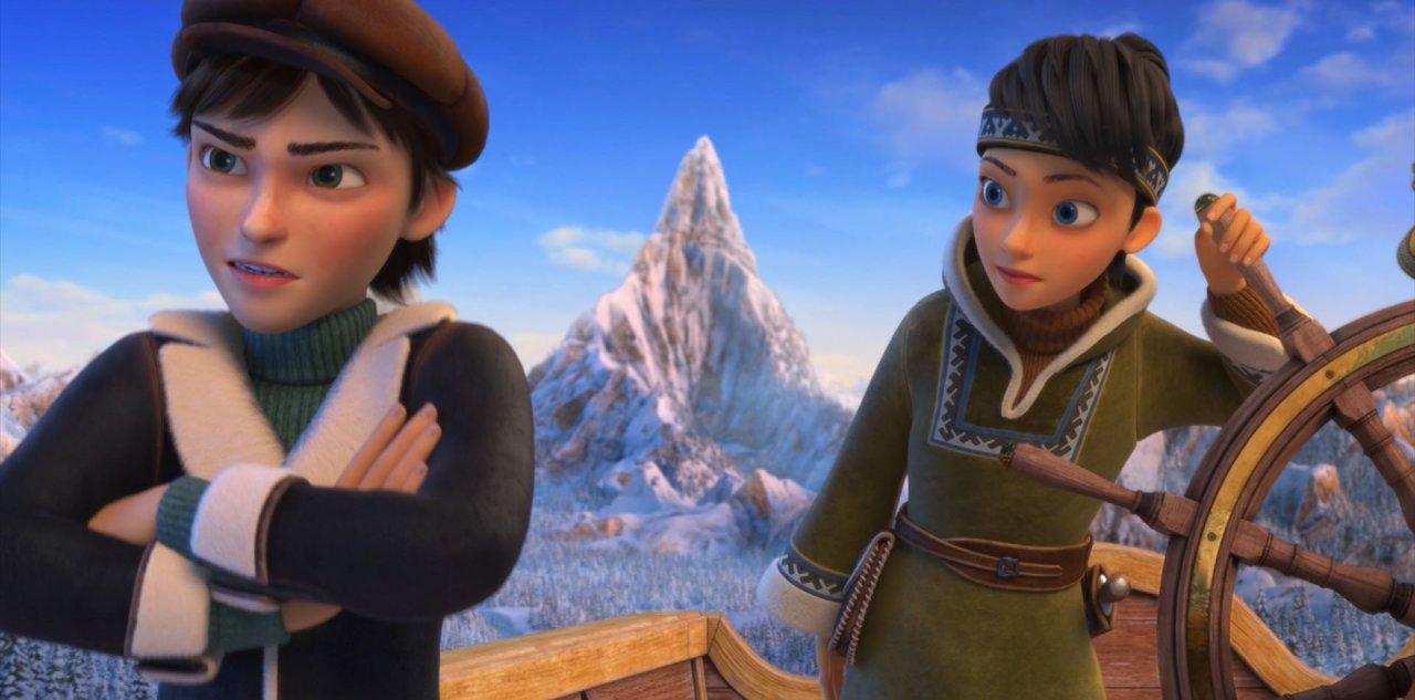 картинка герды из снежной королевы огонь и лед правит бал