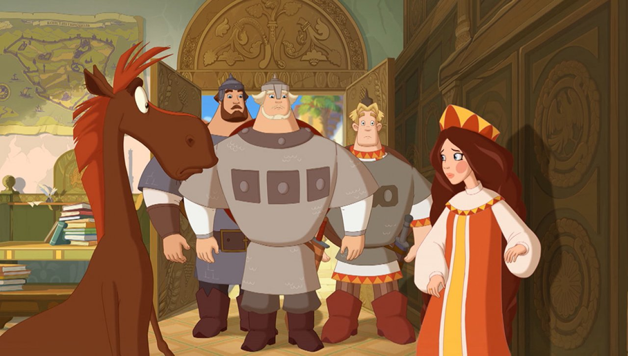 Три богатыря и Наследница престола